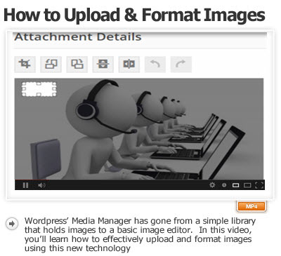 Format Images Using the Media Manager