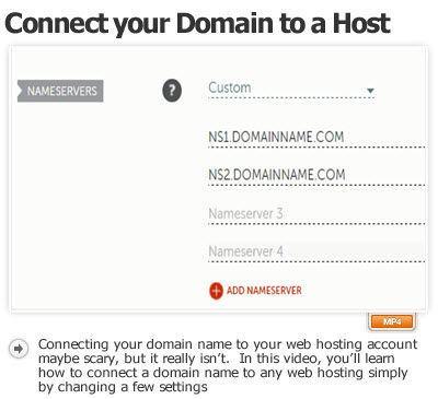 Connect your Domain to a Web Hosting Account