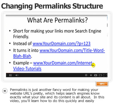 How to Change Permalinks Structure
