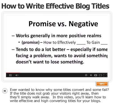 How to Write Effective Blog Titles