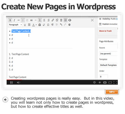How to Create New Pages in WordPress