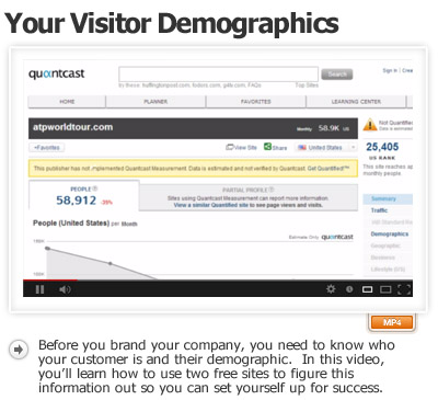 Figuring Out Your Customers Demographics