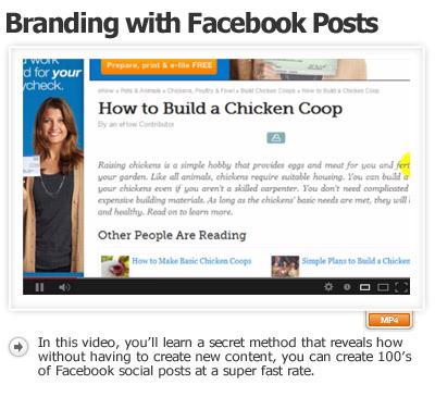 Boost Your Brand Thru Facebook Posts