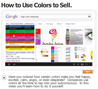 Power Of Colors How To Use Colors To Sell