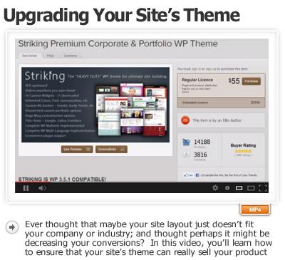 Upgrade Your WordPress Sites Theme Design