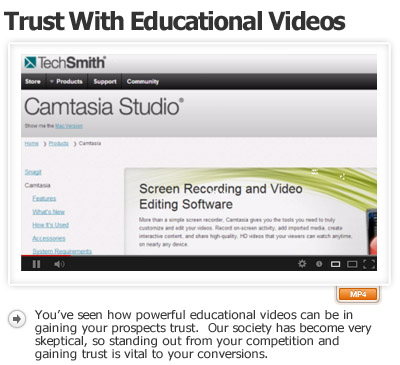 Position Brand Trustworthy Thru Educational Videos
