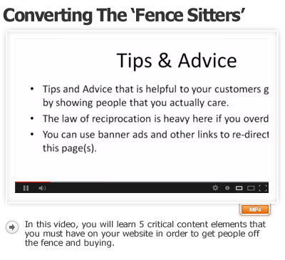 Pages To Convert Skeptical Fence Sitters