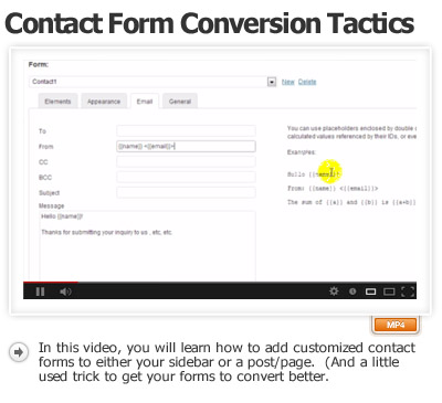 Call To Action Forms Part-2 Sidebar