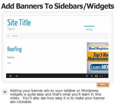 Banner Ads Part-2 Sidebar Widgets