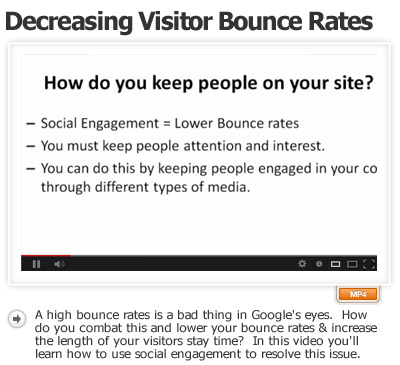 Decrease Bounce Increase Engagement