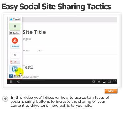 Share Your Site Socially