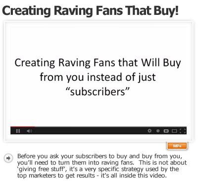 Creating Raving Fans That Buy