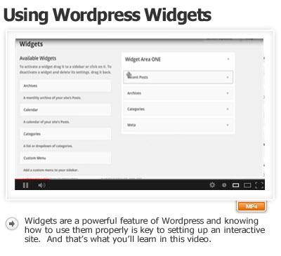 Use WordPress Widgets Effectively
