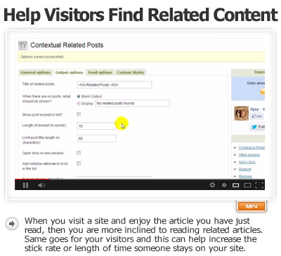 Help Visitors Find Content Thru Related Posts
