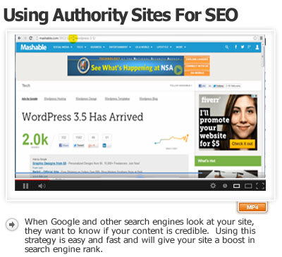 Using Authority Sites to Increase Your SEO